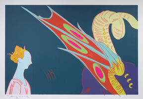 Andy Warhol, 'Details of the Renaissance (Paolo Uccello, St. George and the Dragon, 1460)', 1984