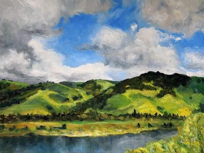Terrill Welch, 'Fremont Hills California Early Spring', 2015