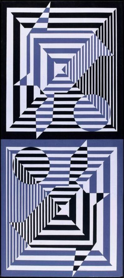 Victor Vasarely, 'Yabla', 1956-1976