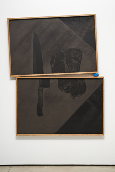 Colby Bird, 'Meat and Knife, Dortmund', 2015