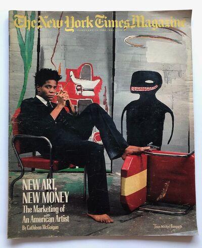 Jean-Michel Basquiat, 'New York Times Magazine', 1985