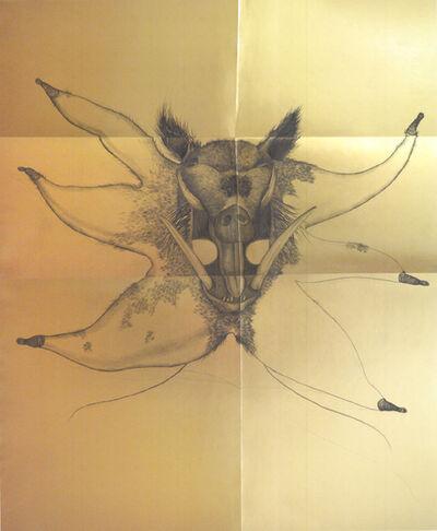 Aleksandra Chaushova, 'Wild boar mask', 2018