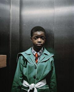 Mikhael Subotzky & Patrick Waterhouse, 'Lift Portrait 8, Ponte City, Johannesburg', 2008