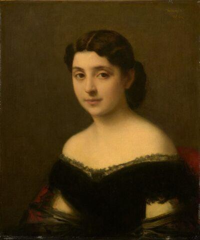 Jean-Jacques Henner, 'Portrait of a Woman', 1864