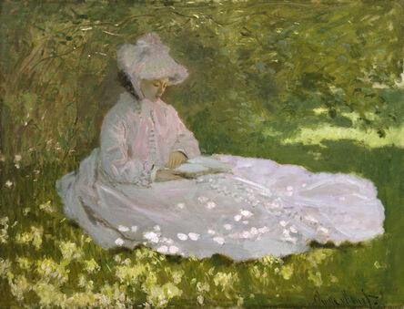 Claude Monet, 'Springtime', 1872