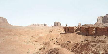 Francesco Jodice, 'West, Monument Vallery, #015 John Ford point, Monument Valley', 2014