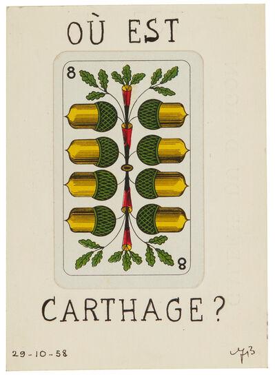 André Breton, 'Où Est Carthage?', 1958