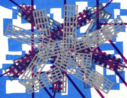 Bernard Cohen, 'Mirror x 6 (4)', 2008