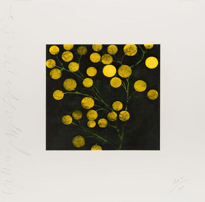 Donald Sultan, 'Yellow Peppers', 1994