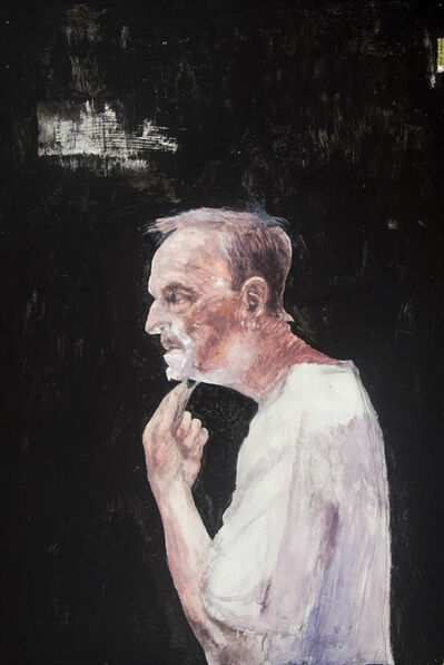 Miles Cleveland Goodwin, 'Old Man Shaving', 2015