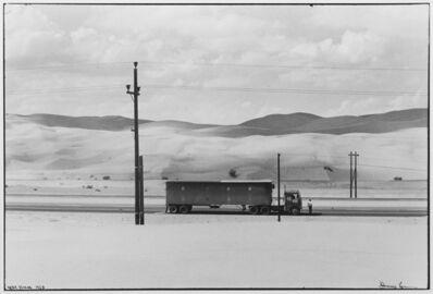 Danny Lyon, '(Truck in the Desert) Near Yuma, Arizona', 1963/1981
