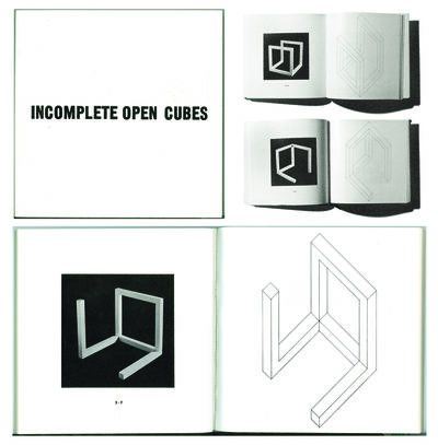 Sol LeWitt, 'Incomplete open cubes, New York, The John Weber Gallery', 1974