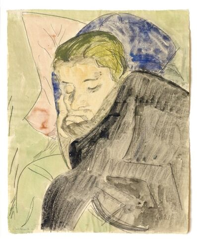 Erich Heckel, ''Schlafende'', 1922