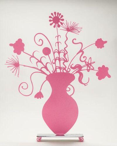 Kenny Scharf, 'Pink Flores', 2021