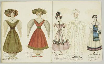 Baroness Lehzen, 'Princess Victoria's paper dolls', ca. 1830