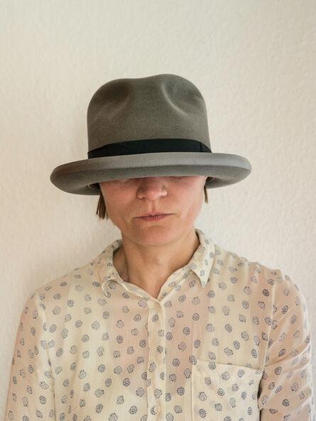 Elina Brotherus, 'The Hat is Too Big', 2017