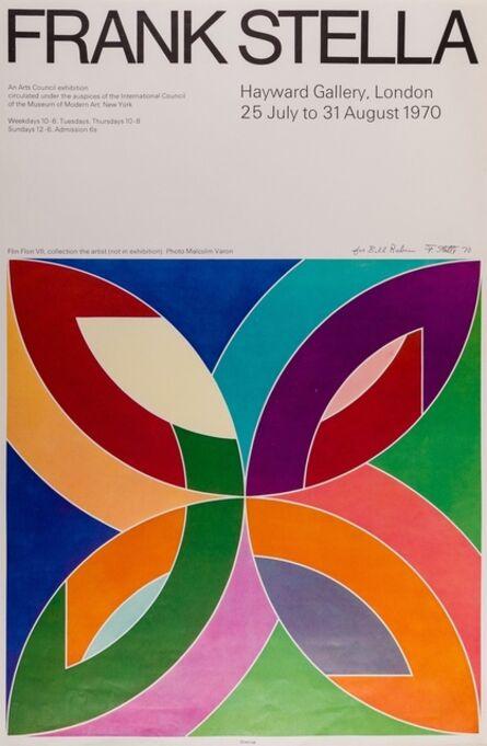 Frank Stella, 'Frank Stella Poster for The Hayward Gallery, 1970', 1970