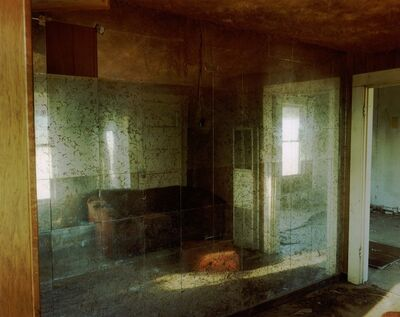 Steve Fitch, 'Living Room With A Mirror Wall In A House Near Lefors, Texas, March 20', 1998