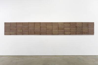 Ian Hamilton Finlay, 'Wave Rock', 1975