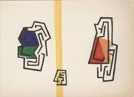 Mathias Goeritz, 'Tarjeta de felicitación', 1973