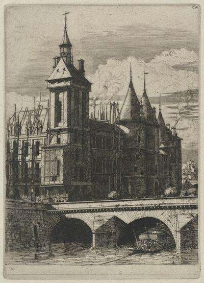 Charles Meryon, 'La Tour de l'Horloge, Paris (The Clock Tower, Paris)', 1852