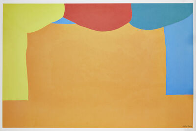 Gary Hume, 'Curtains', 2020