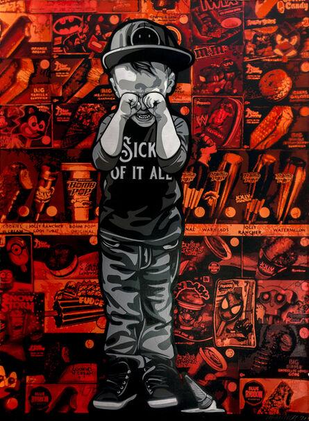 Logan Hicks, 'Sick of it All Collaboration (1)', 2020