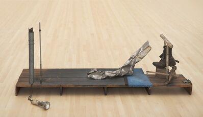 Robert Rauschenberg, 'Trophy IV (for John Cage)', 1961