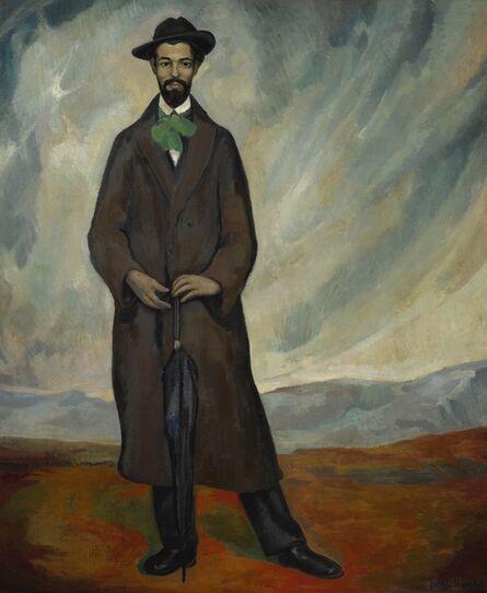 Diego Rivera, 'Retrato de un español (Portrait of a Spaniard)', 1912