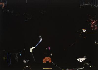 Nilbar Güres, 'WEBCAM SEX; VOYEUR siyah serisinden / from the series black', 2013