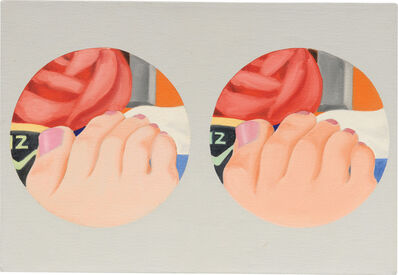 Tom Wesselmann, 'Double Study for Bedroom Painting #22', 1969