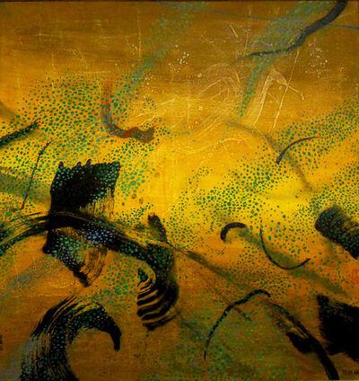 Don Ahn, 'Dragon in Golden Pond', 1999