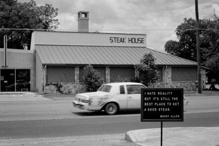 Rémi Noël, 'Steak house, Kerrville Texas', 2016