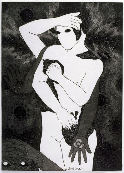 Belkis Ayón, 'Arrepentida (Repentant)', 1993