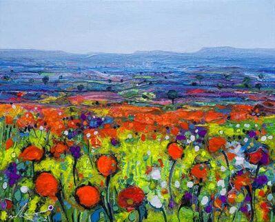 Ulpiano Carrasco, 'Poppies and Field', 2021