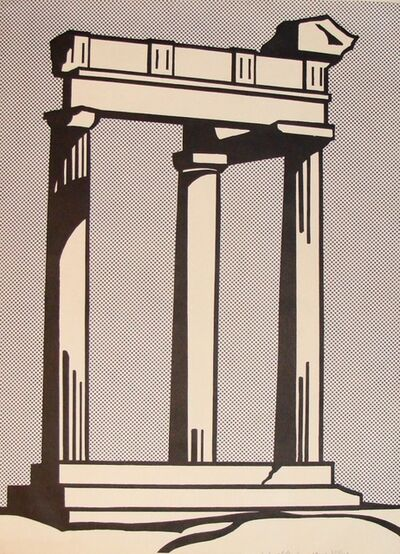 Roy Lichtenstein, 'Temple', 1964