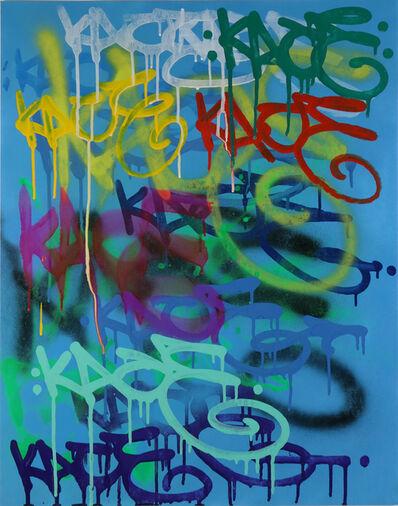 Kip Omolade, 'Luxury Graffiti Kent I Tag Sheet', 2020
