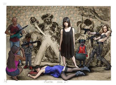 Lluis Barba, 'Fuerte cosa es! Goya', 2019