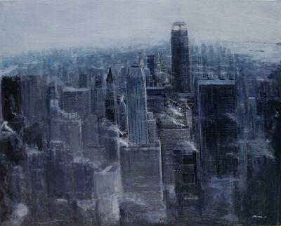 Han Hong Park, 'Rain-Manhattan Smoke', 2010