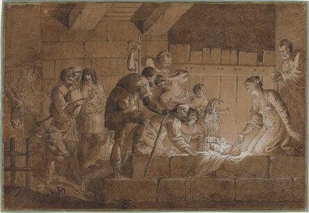 Giuliano Traballesi, 'The Nativity'