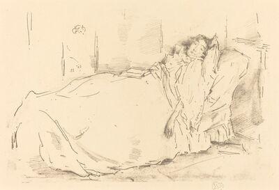 James Abbott McNeill Whistler, 'The Siesta', 1896