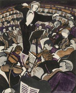 Lill Tschudi, 'The Concert (Coppel LT 80)', 1948