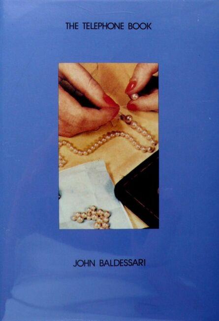 John Baldessari, 'The Telephone Book (With Pearls)', 1988