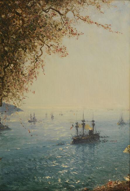 Félix Ziem, 'Villefranche, Riviera.', 1880-1890