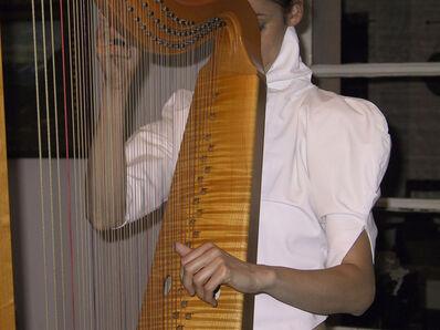 Armin Linke, 'Harpist, Calde', Italy', 2008