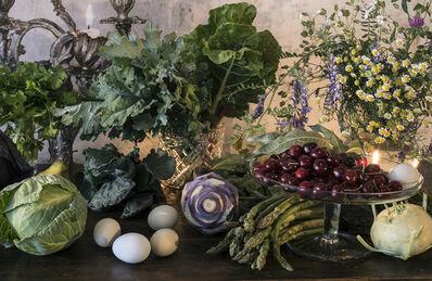 Vera Mercer, 'Eggs, Vegetables, Cherries', 2017