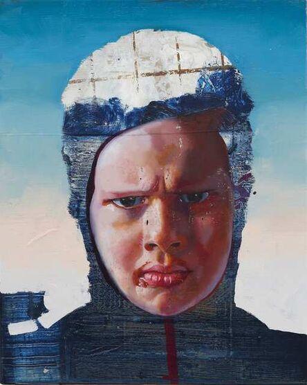 Rayk Goetze, 'Heller Kopf', 2020