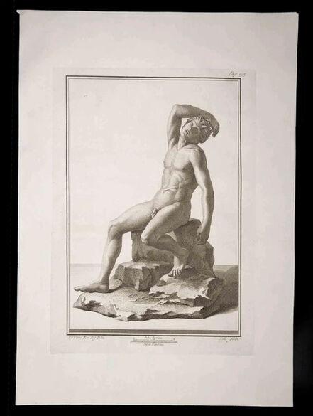 Carlo Nolli, 'Ancient Roman Statue', 18th Century