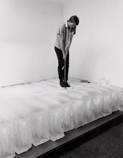 Paul Kos, 'Glacier Golf', 1982