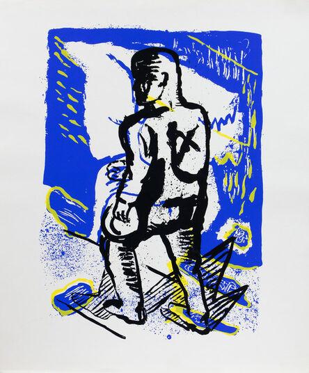 Klaus Killisch, 'Der Wanderer', 1989